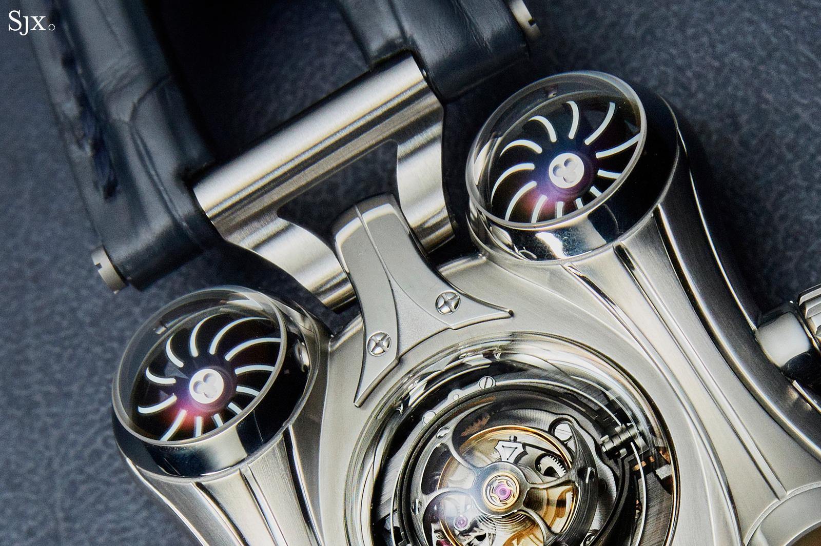 MB&F HM6 Final Edition turbine close up