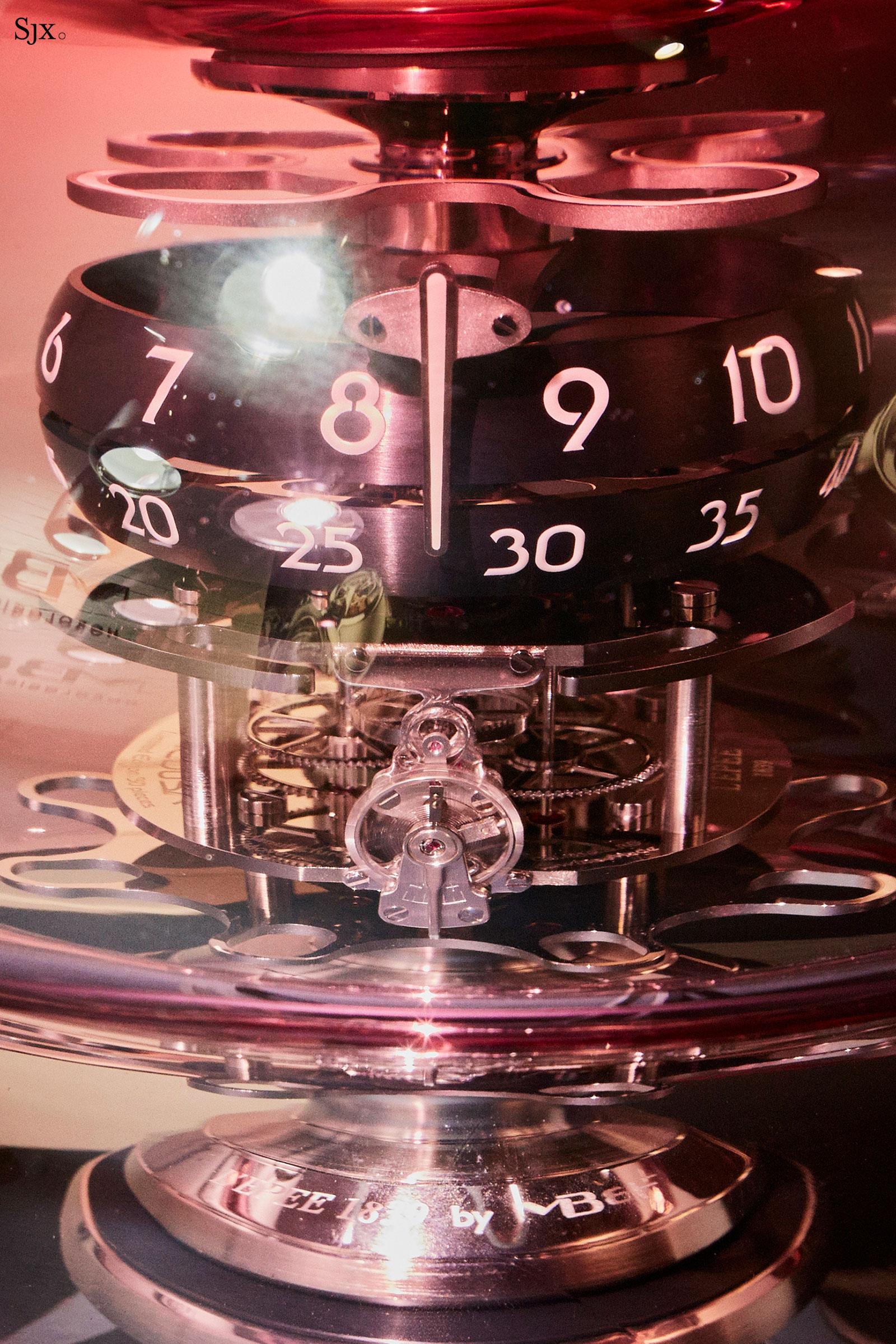 MBF Medusa clock lepee 1