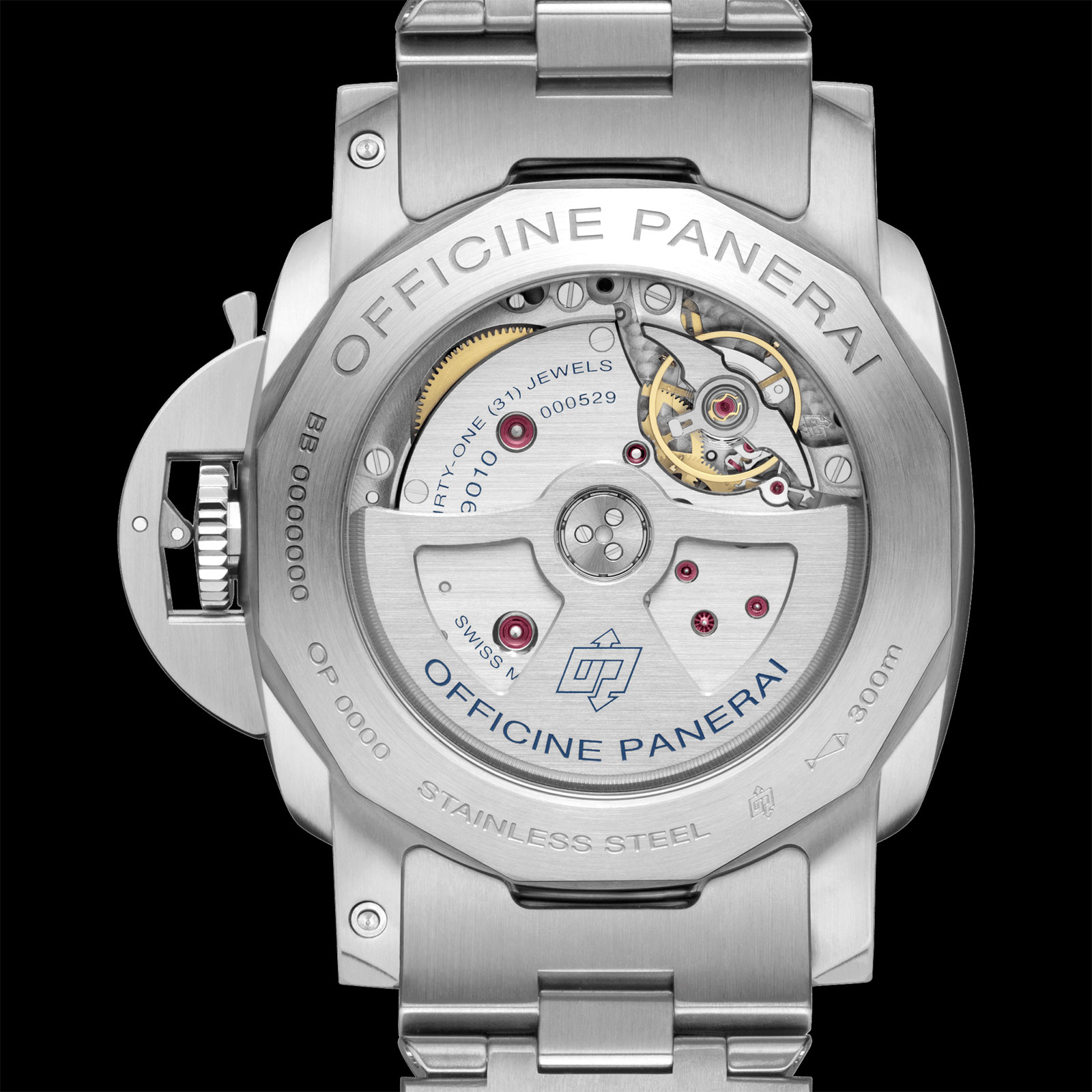 Panerai Luminor silver PAM978 P9010