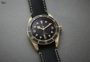 Hands-On with the Tudor Black Bay Bronze in Grey