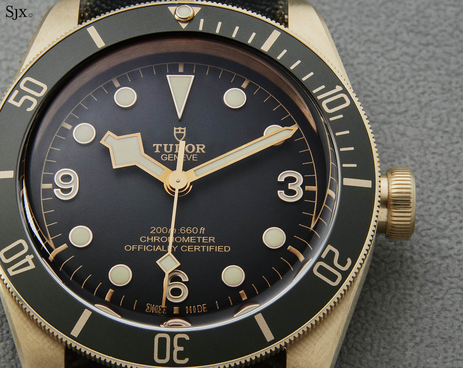 Tudor Black Bay Bronze Grey Dial 6