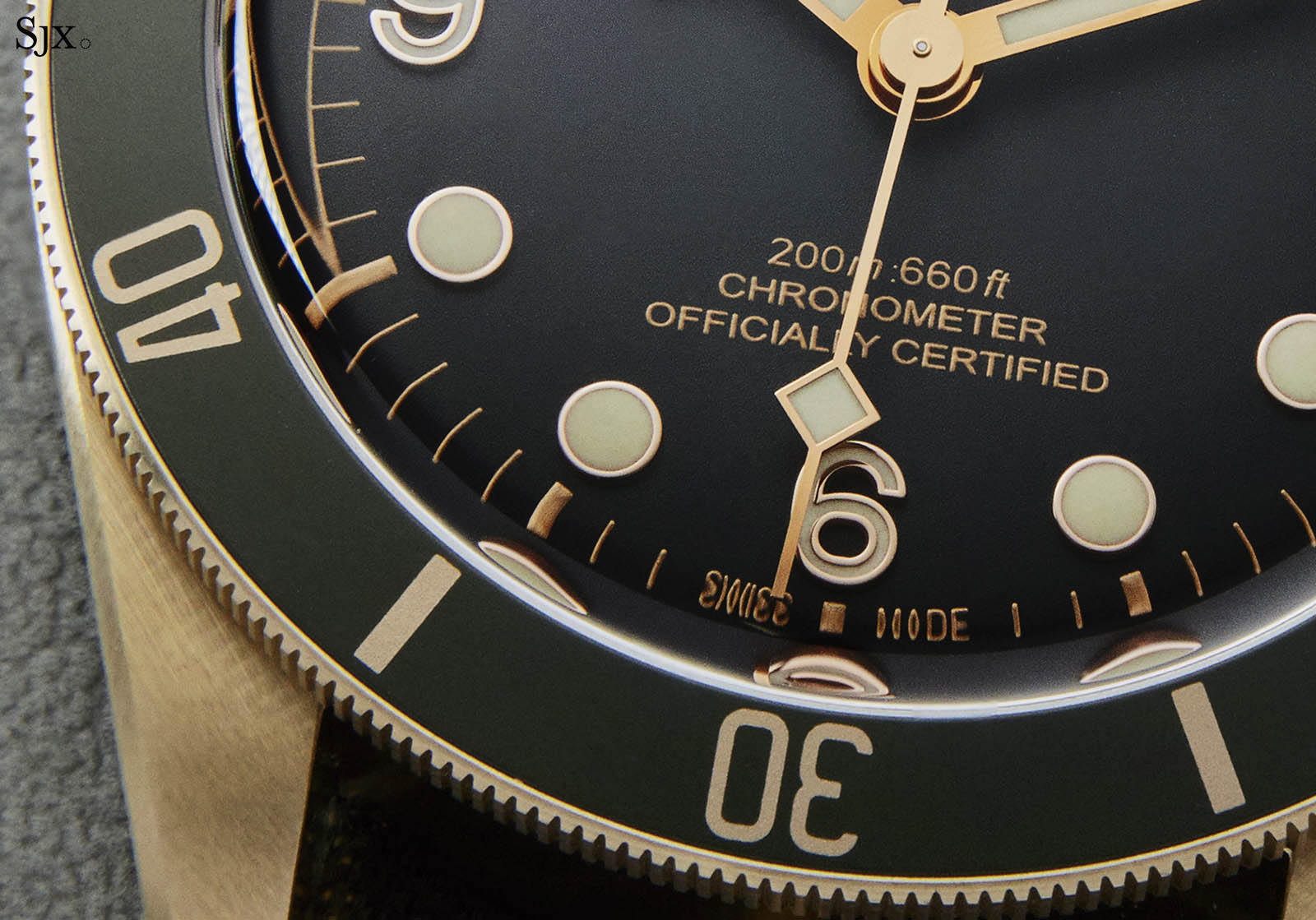 Tudor Black Bay Bronze Grey Dial 9