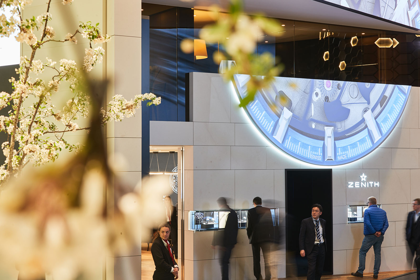 baselworld 2020 Zenith booth