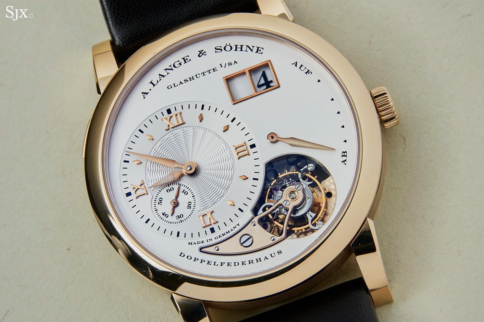 A Lange & Söhne Lange 1 Tourbillon in Honey Gold 1