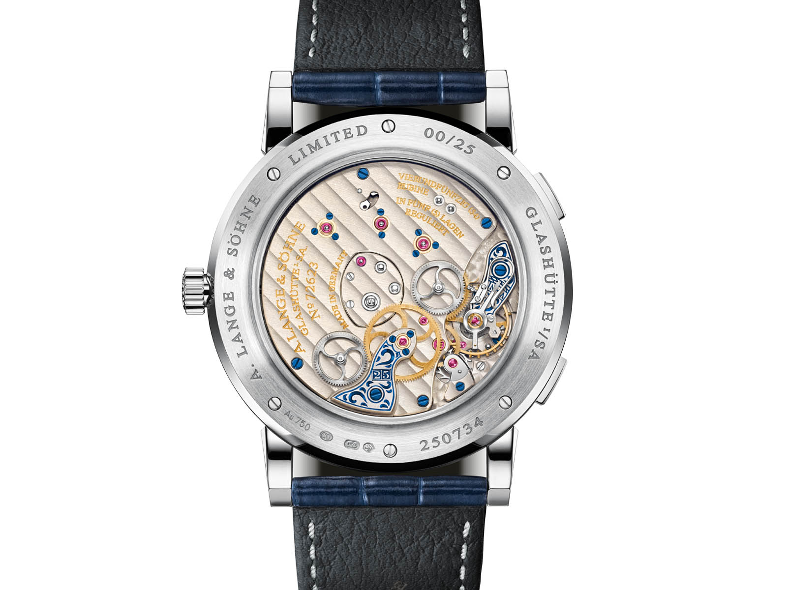 "A. Lange & Söhne Lange 1 Time Zone ""25th Anniversary"" 2"