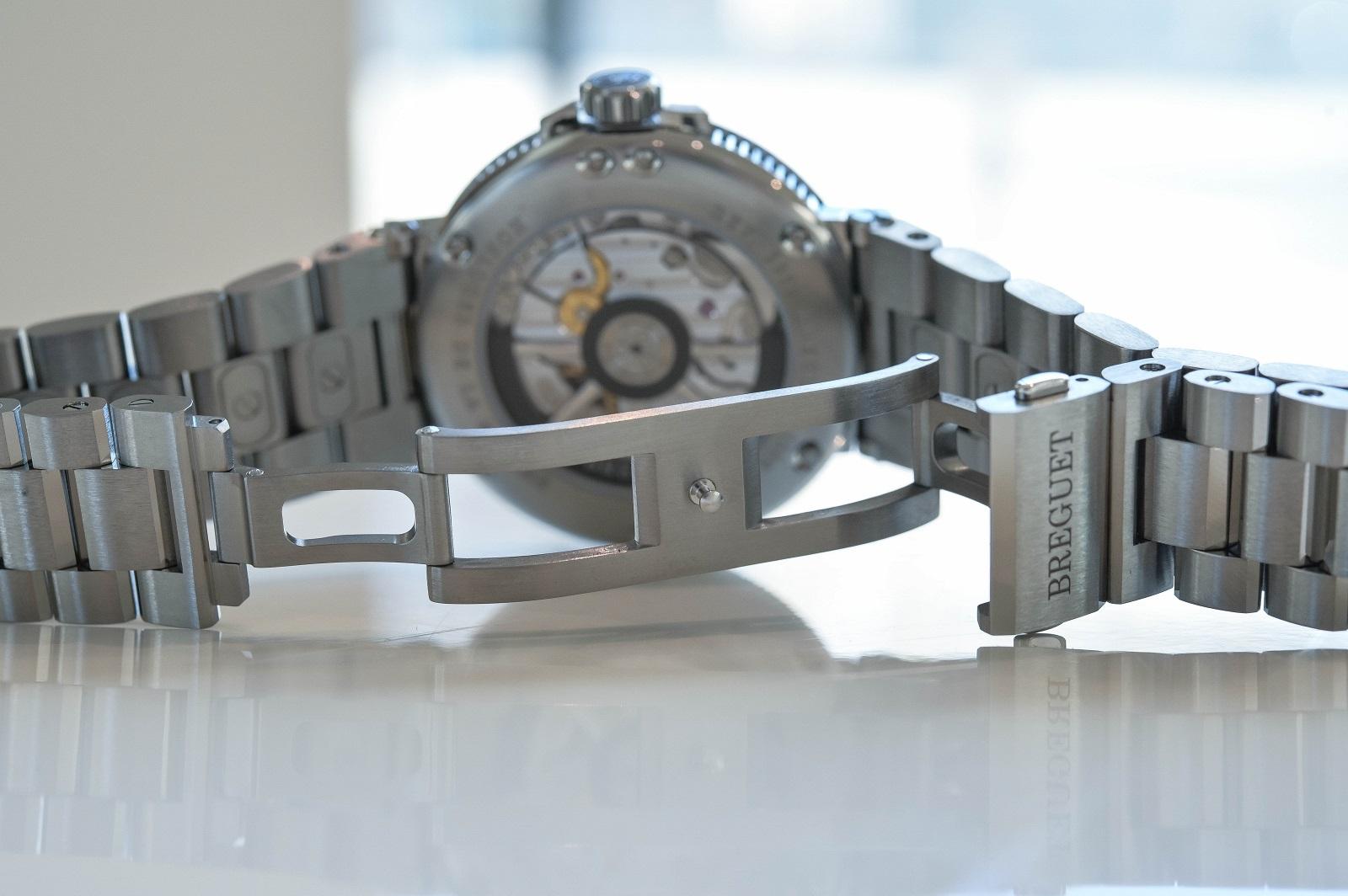 Breguet Marine Titanium bracelet