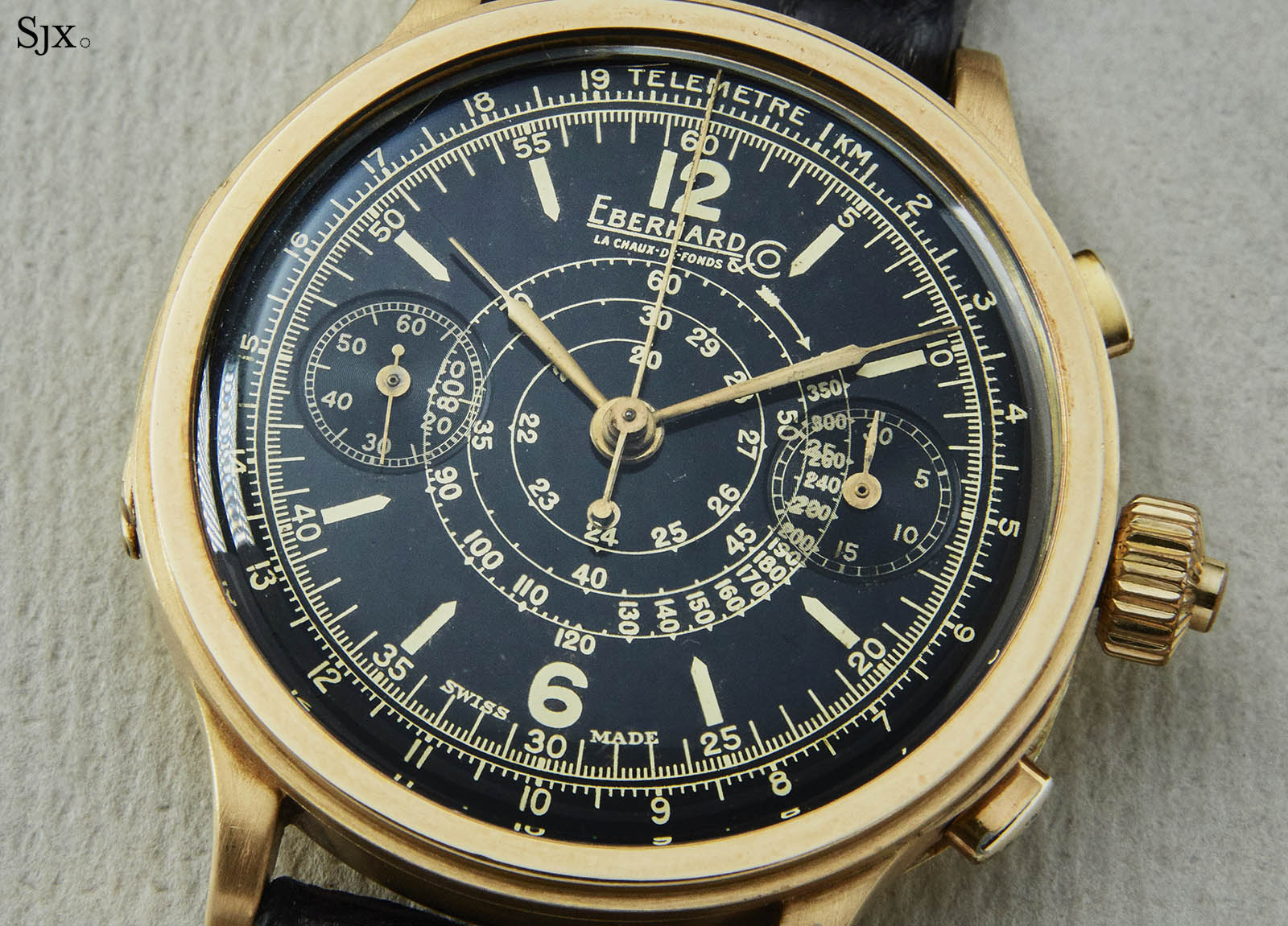 Eberhard Split Seconds Chronograph 5