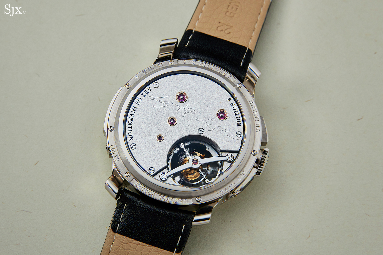 Greubel Forsey Differential Double Tourbillon back 2