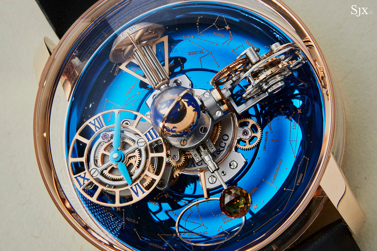 Jacob and Co Astronomia Sky close up