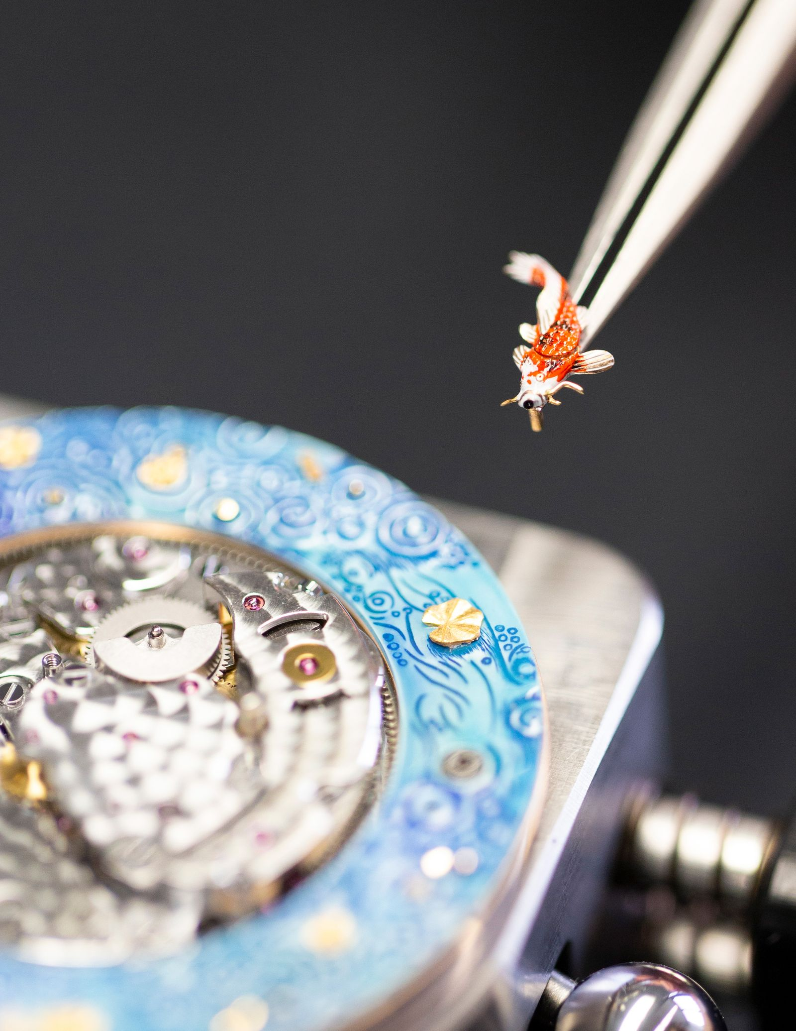 Jaquet Droz Magic Lotus Automaton (10)