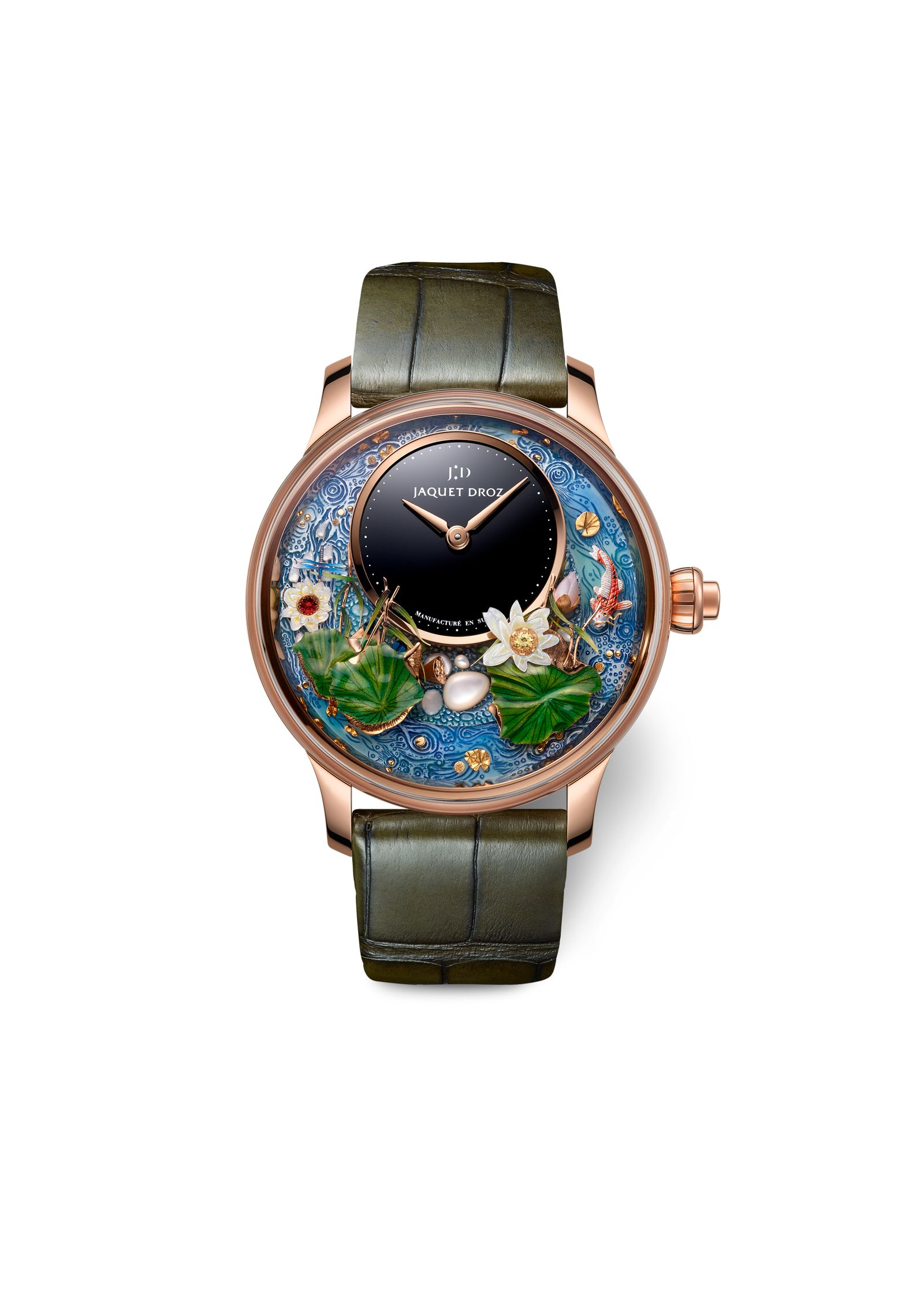 Jaquet Droz Magic Lotus Automaton (3)