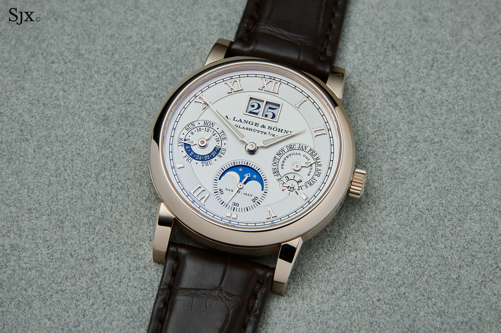 Lange Langematik Perpetual Honey Gold 2