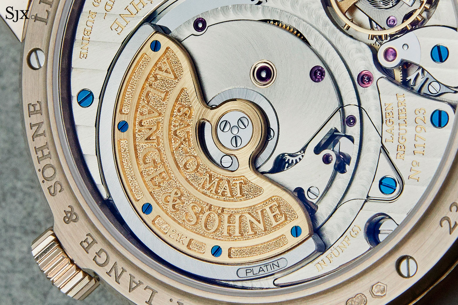 Lange Langematik Perpetual Honey Gold 3