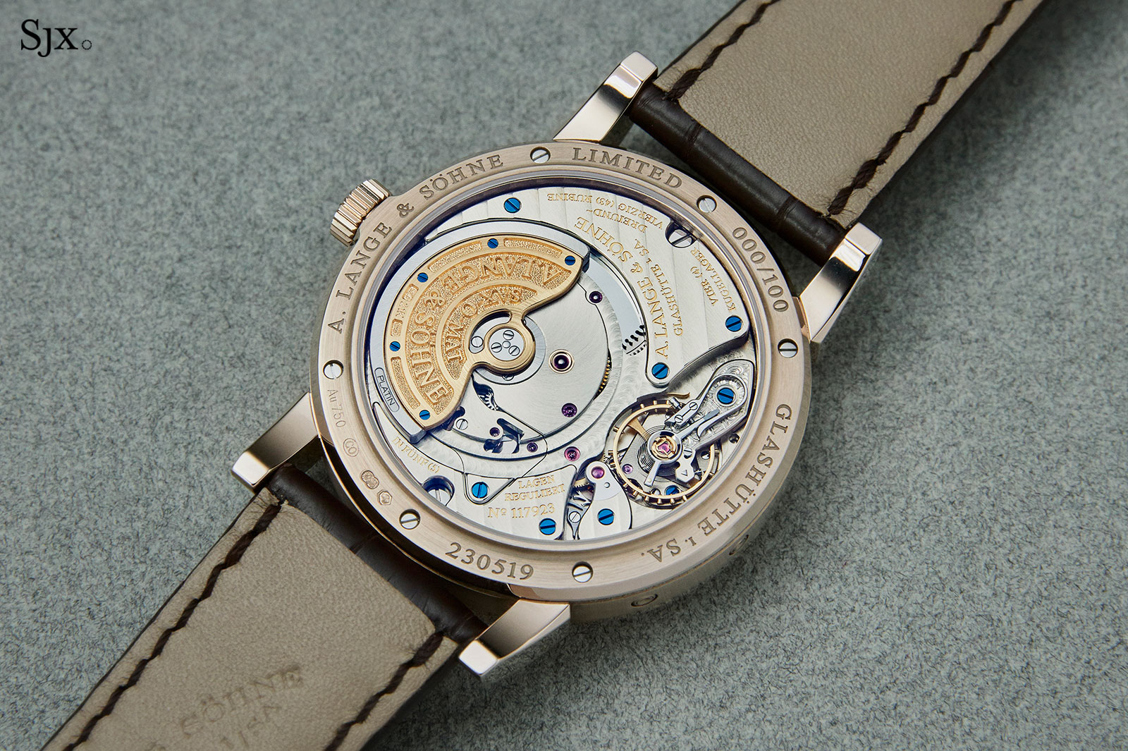 Lange Langematik Perpetual Honey Gold 4
