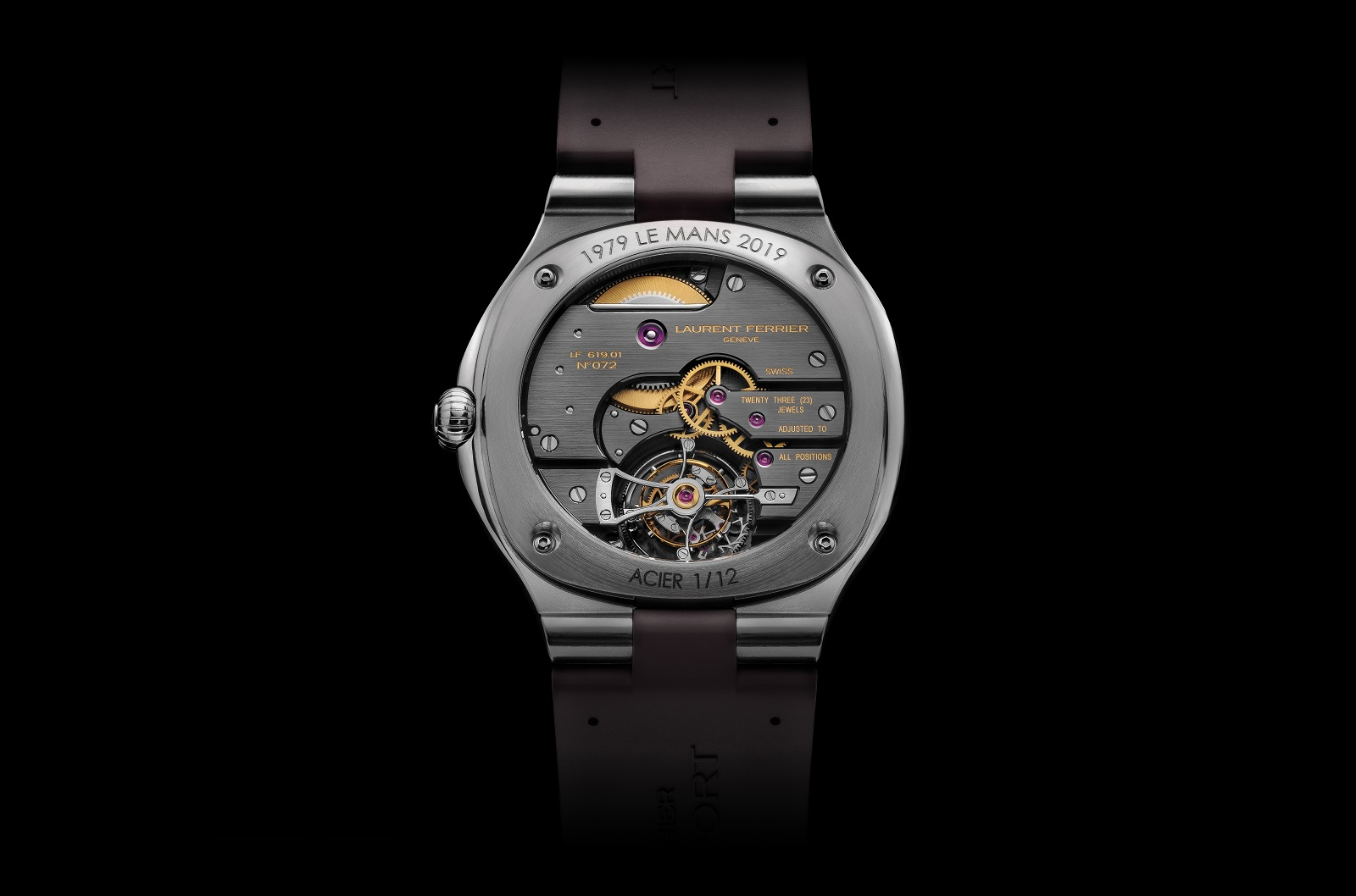 Laurent Ferrier Tourbillon Grand Sport back