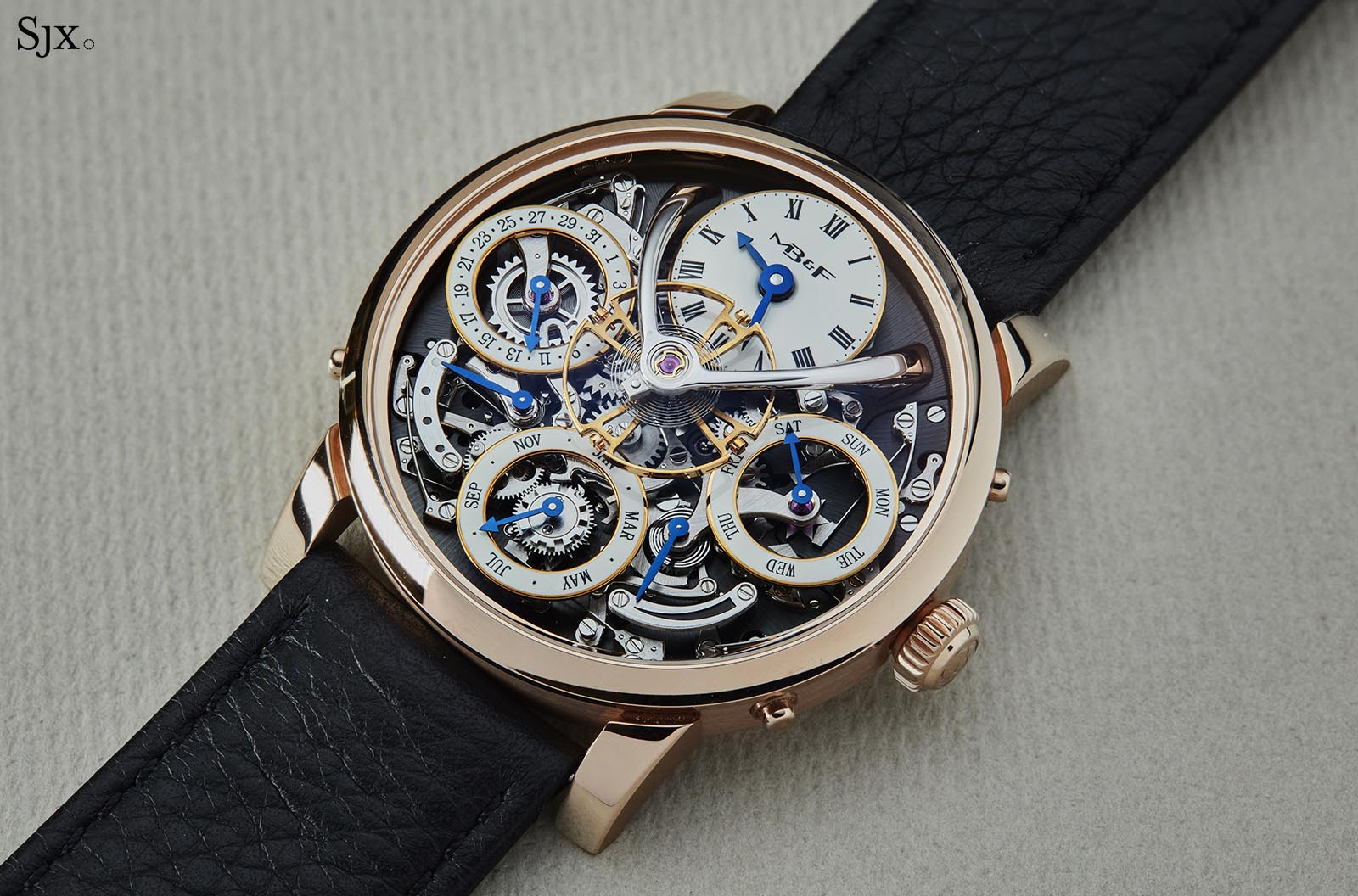 MB&F Legacy Machine Perpetual pink gold