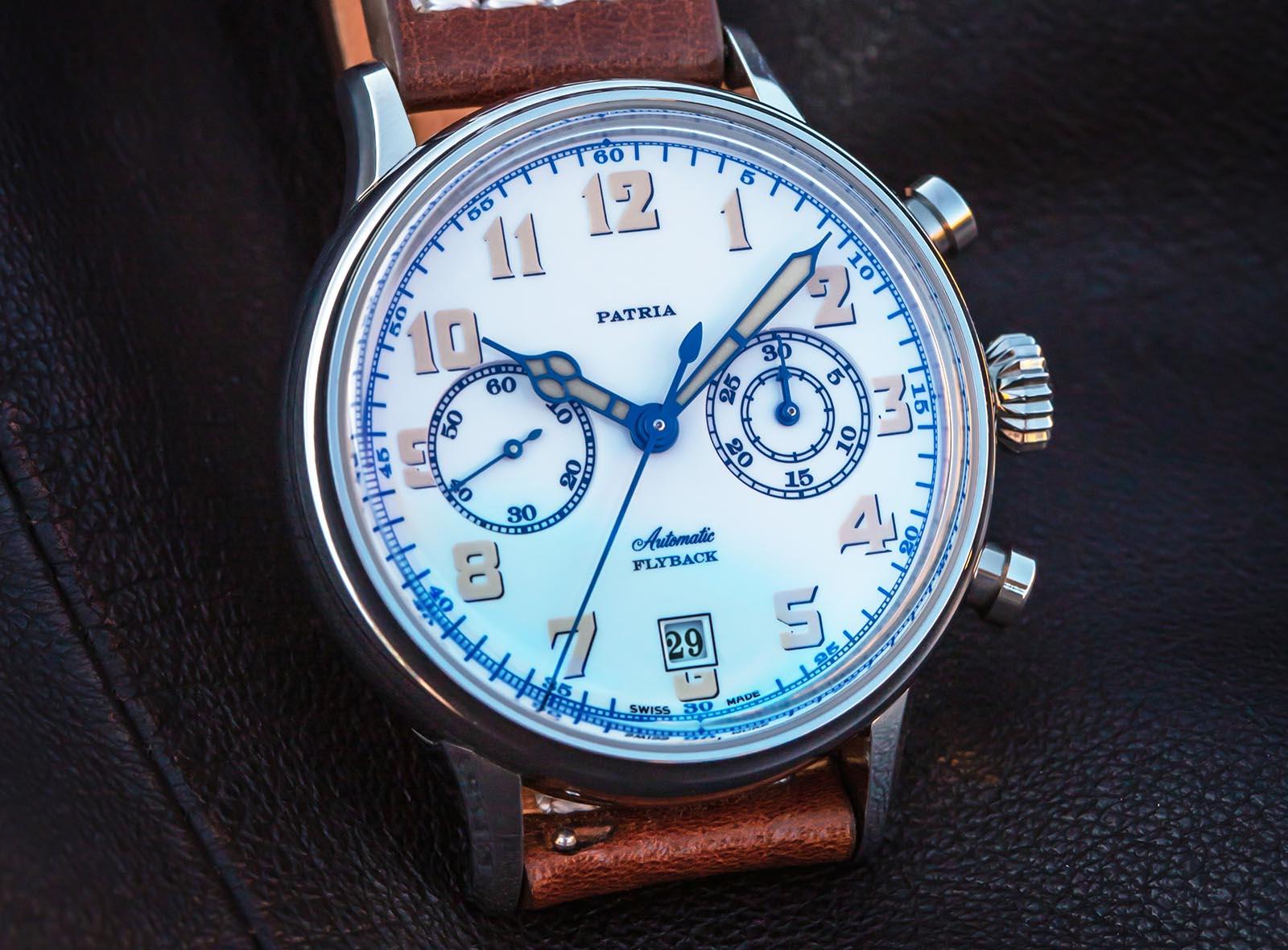 Patria Brigadier Chronograph 6