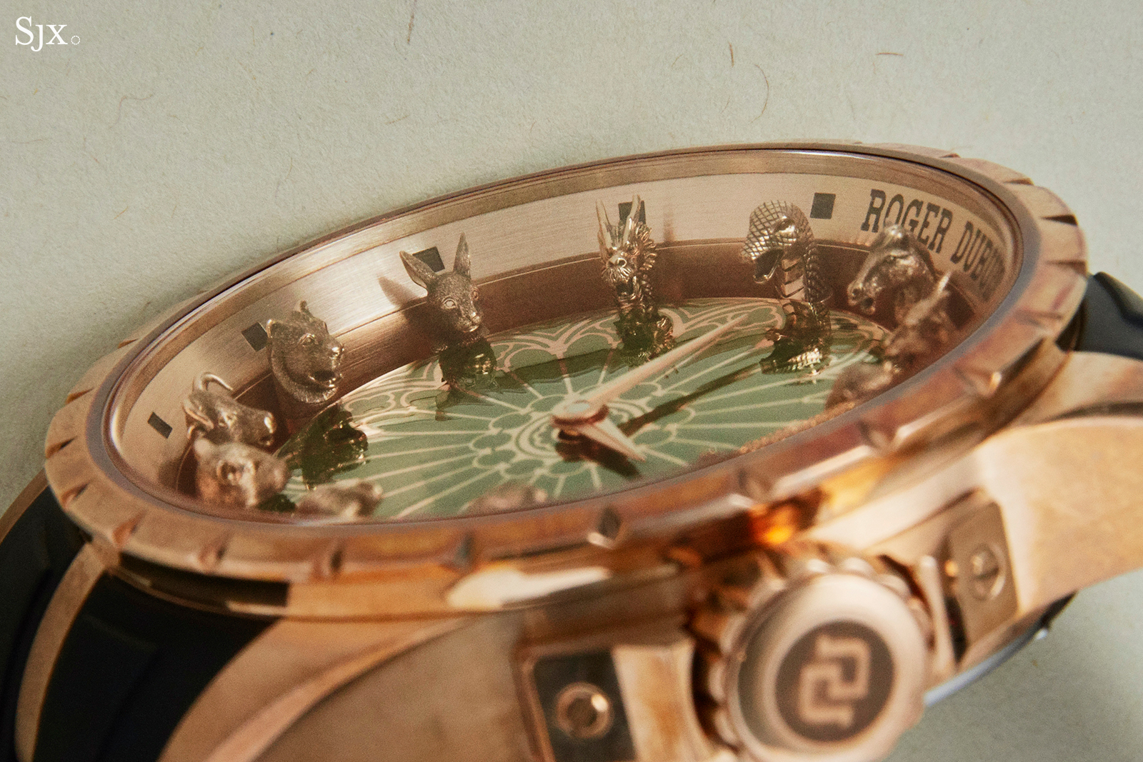 Roger Dubuis Excalibur Chinese Zodiac close up 1