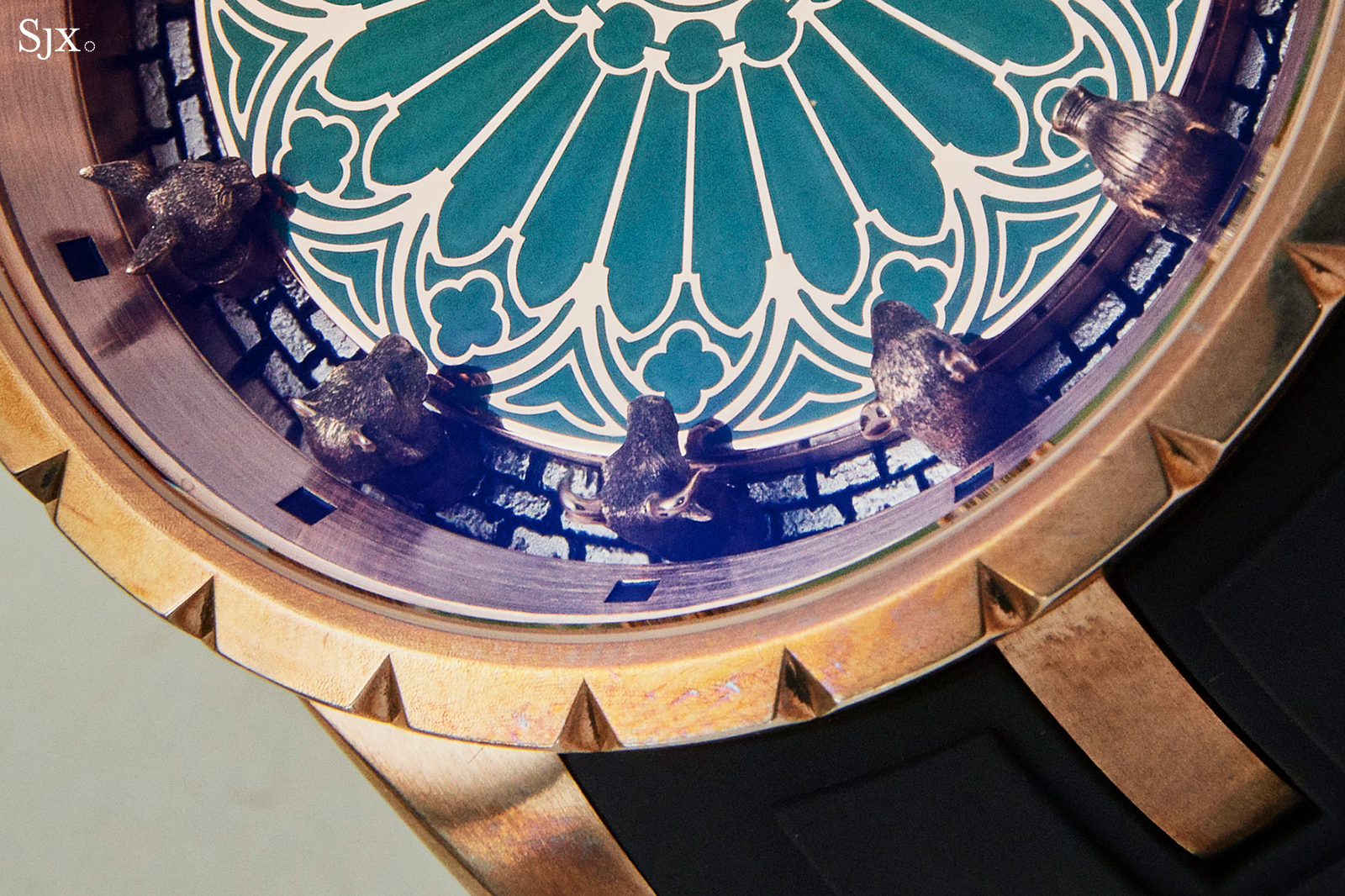 Roger Dubuis Excalibur Chinese Zodiac close up 2