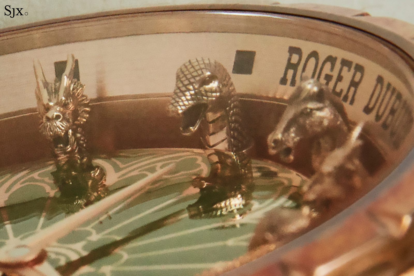 Roger Dubuis Excalibur Chinese Zodiac close up 4