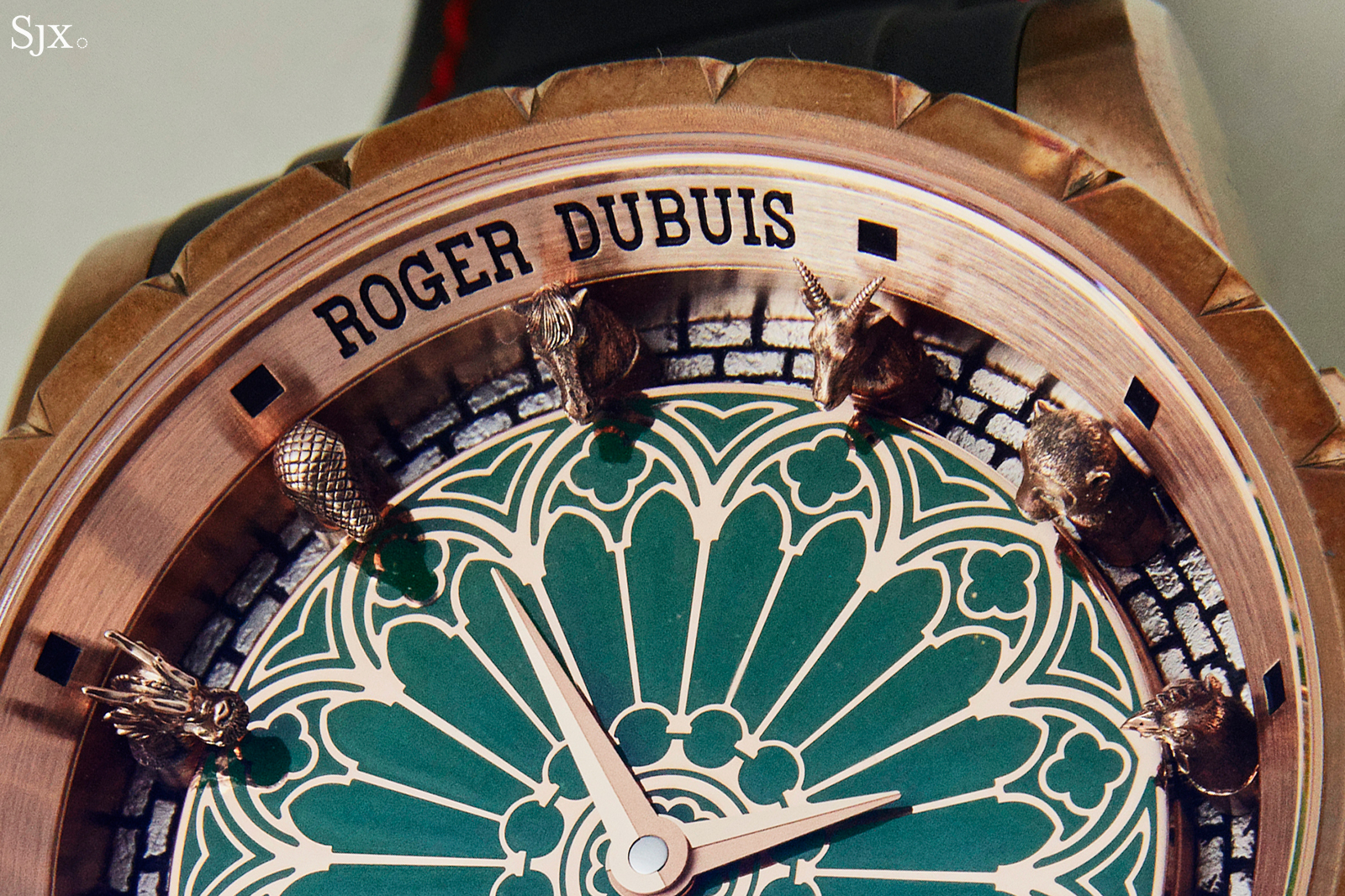 Roger Dubuis Excalibur Chinese Zodiac close up