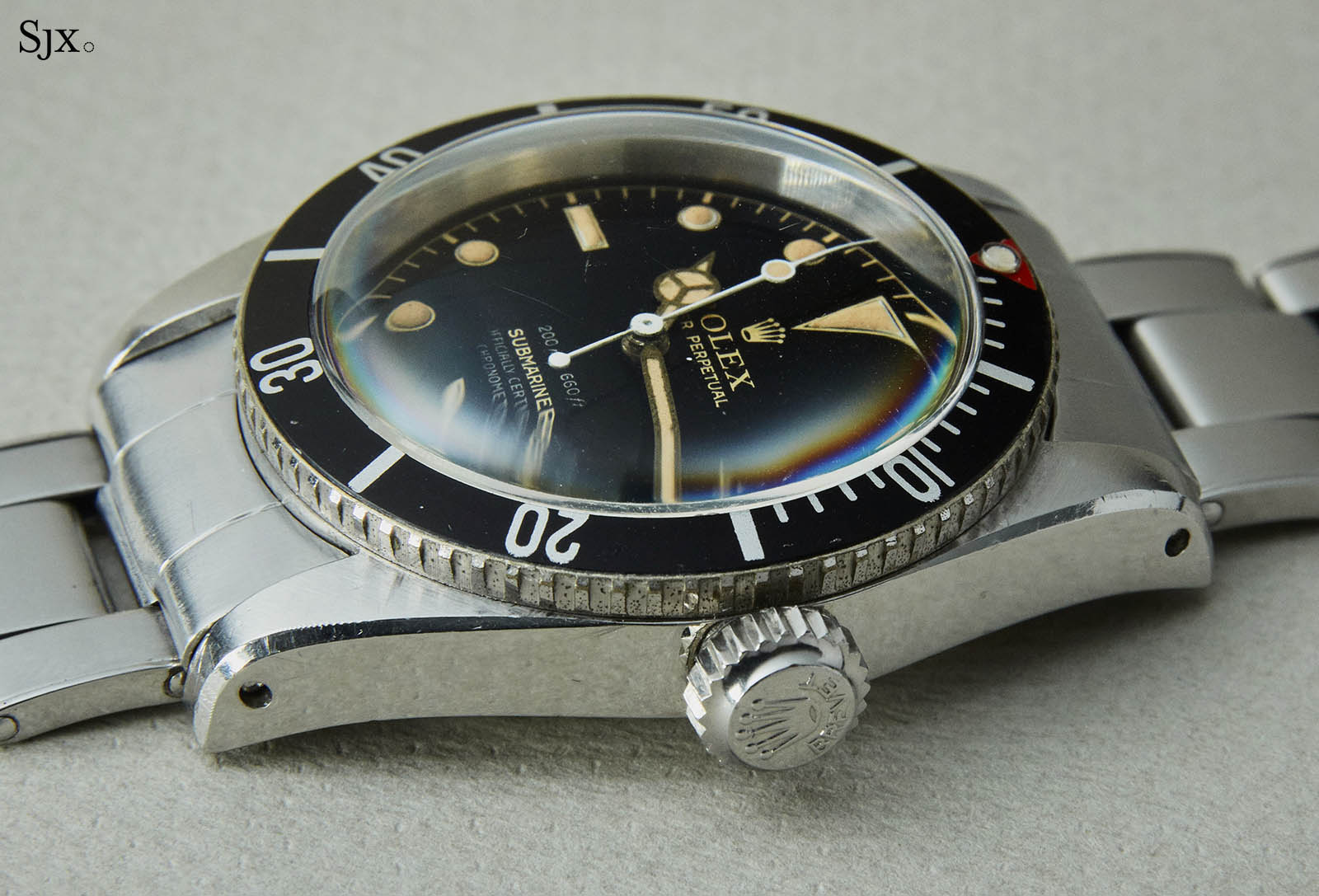 Rolex Submariner ref. 6538 Big Crown 4