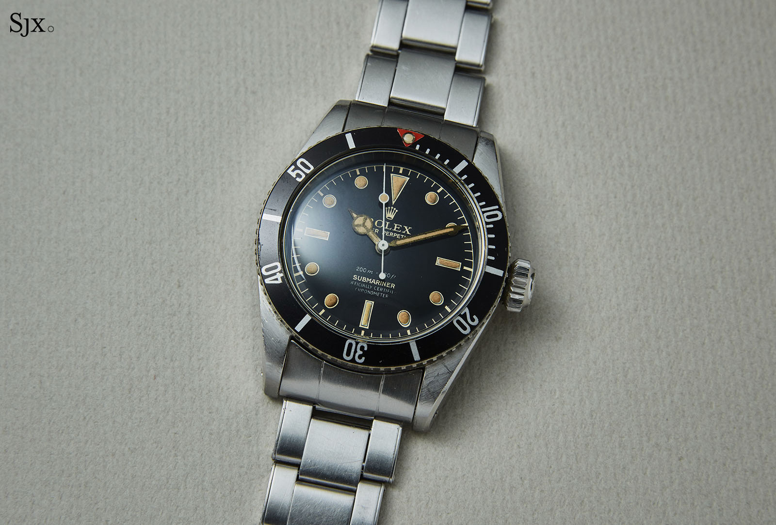 Rolex Submariner ref. 6538 Big Crown