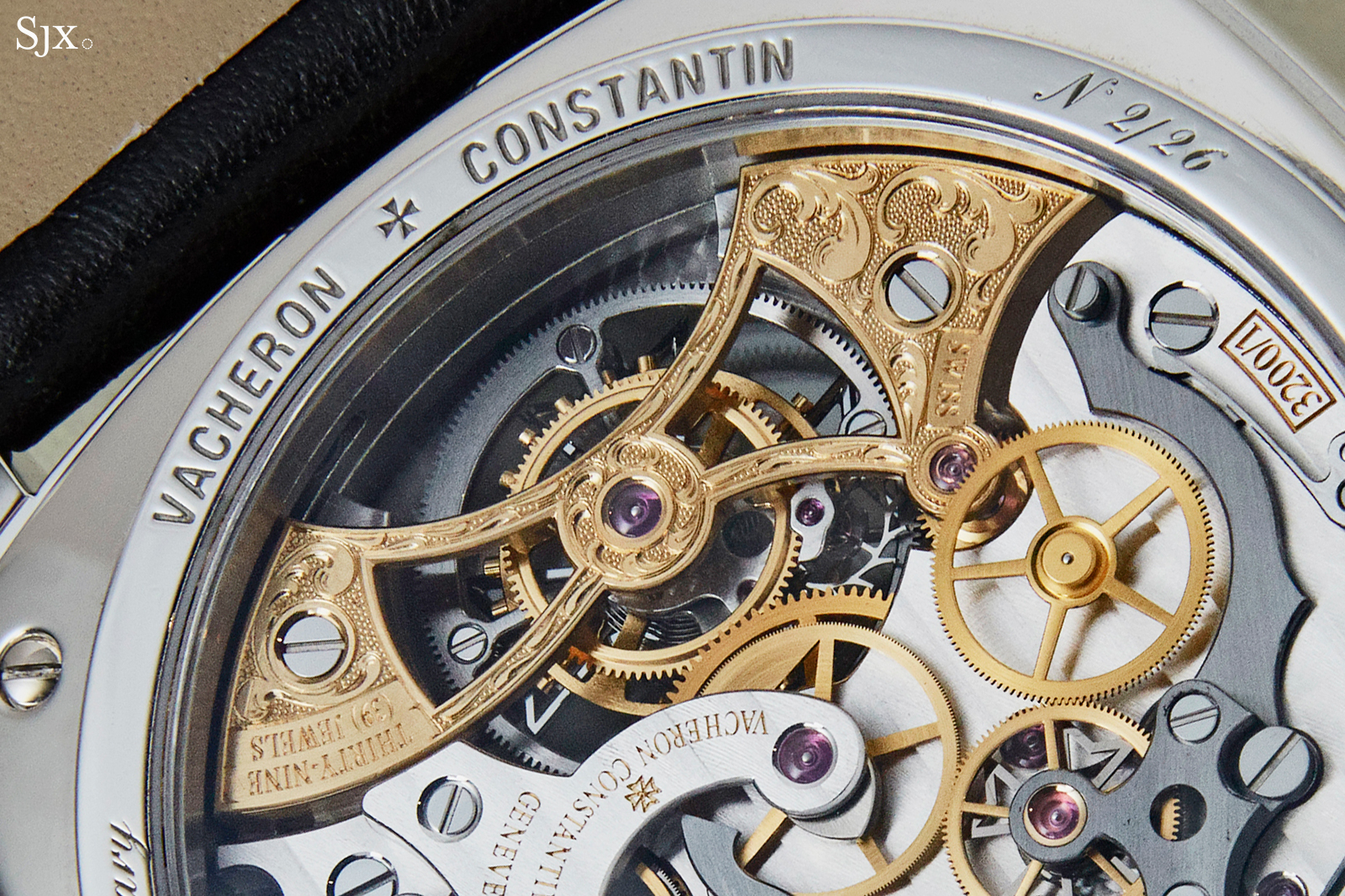 Vacheron Constantin Harmony Chronograph Tourbillon 260th Anniversary back 2