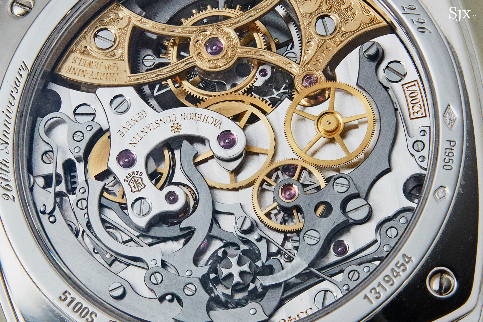 Vacheron Constantin Harmony Chronograph Tourbillon 260th Anniversary back 3
