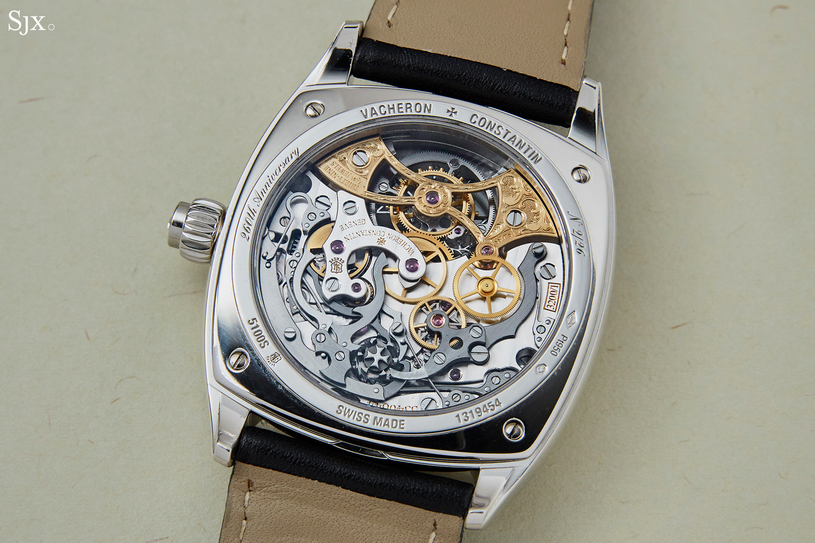 Vacheron Constantin Harmony Chronograph Tourbillon 260th Anniversary back