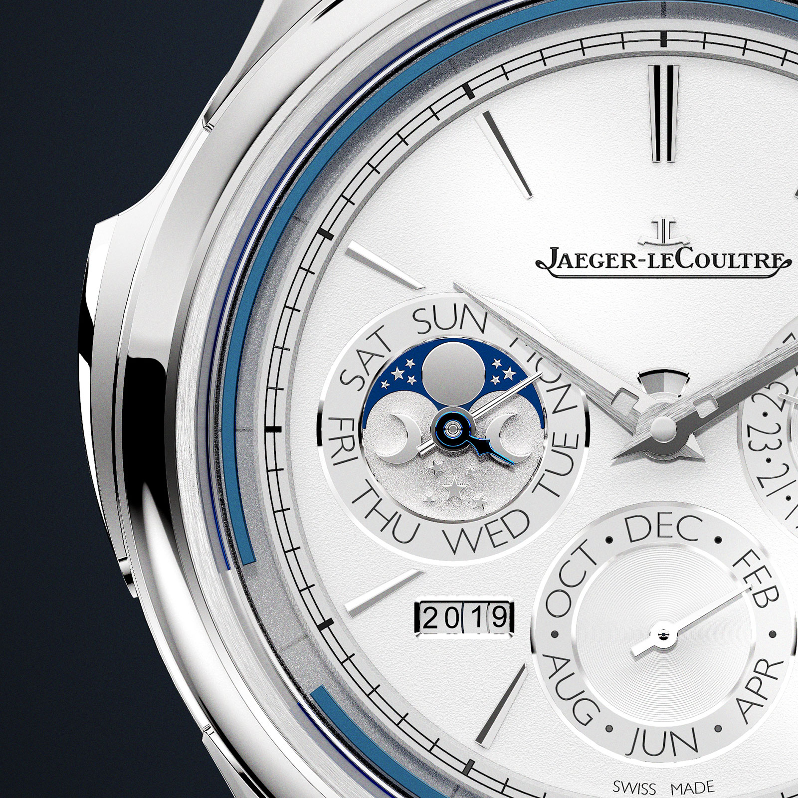 jaeger MGT Repetition Minutes Perpetuelle white