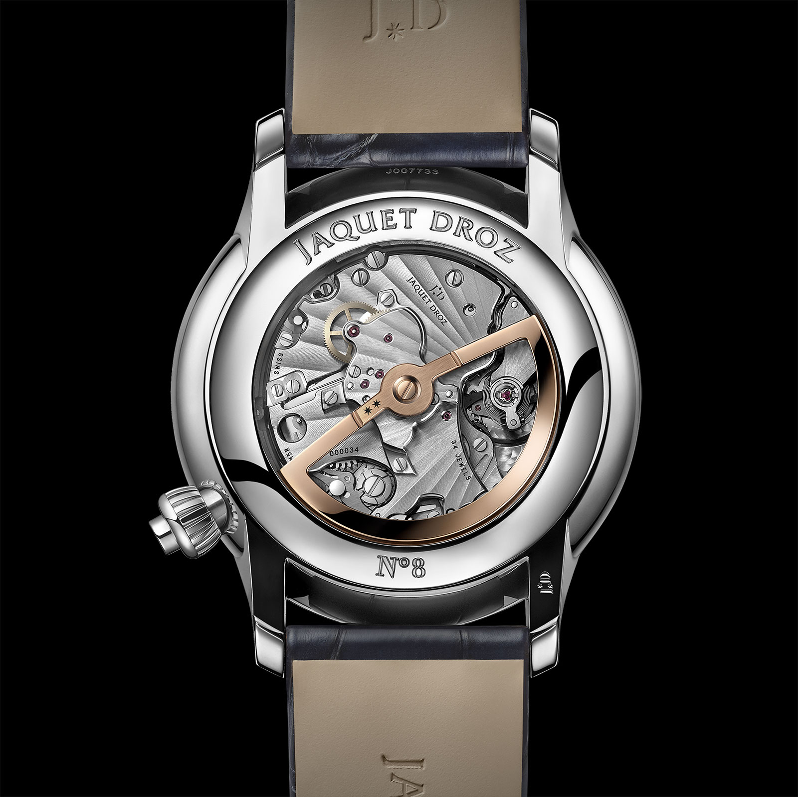 jaquet droz grande seconde chronograph movement