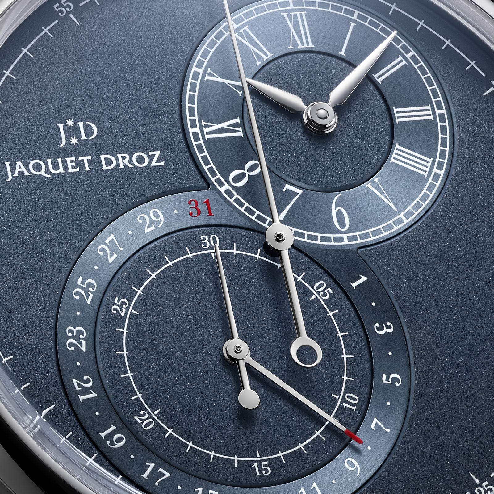 jaquet droz grande seconde chronograph steel