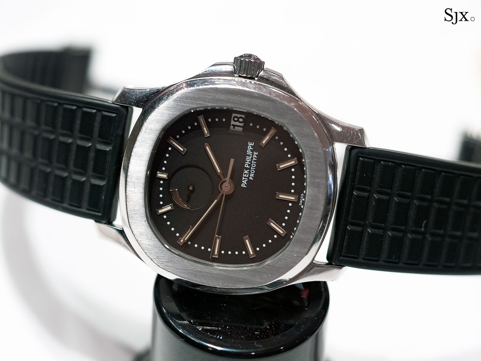 patek philippe aquanaut prototype comet power reserve 2