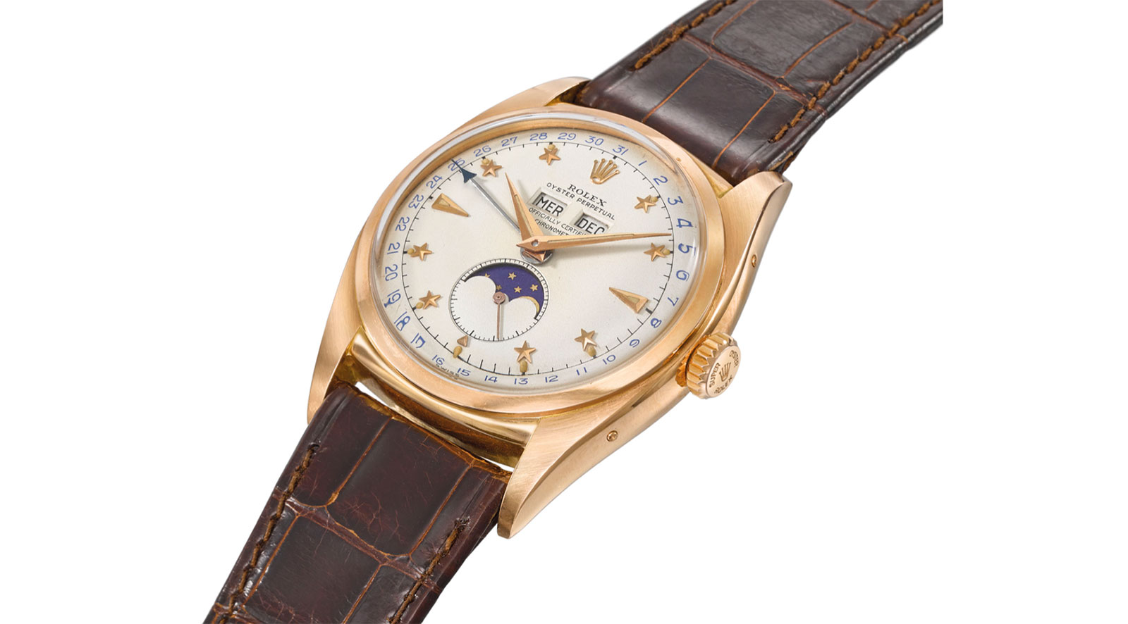 rolex 6062 stelline pink gold christies