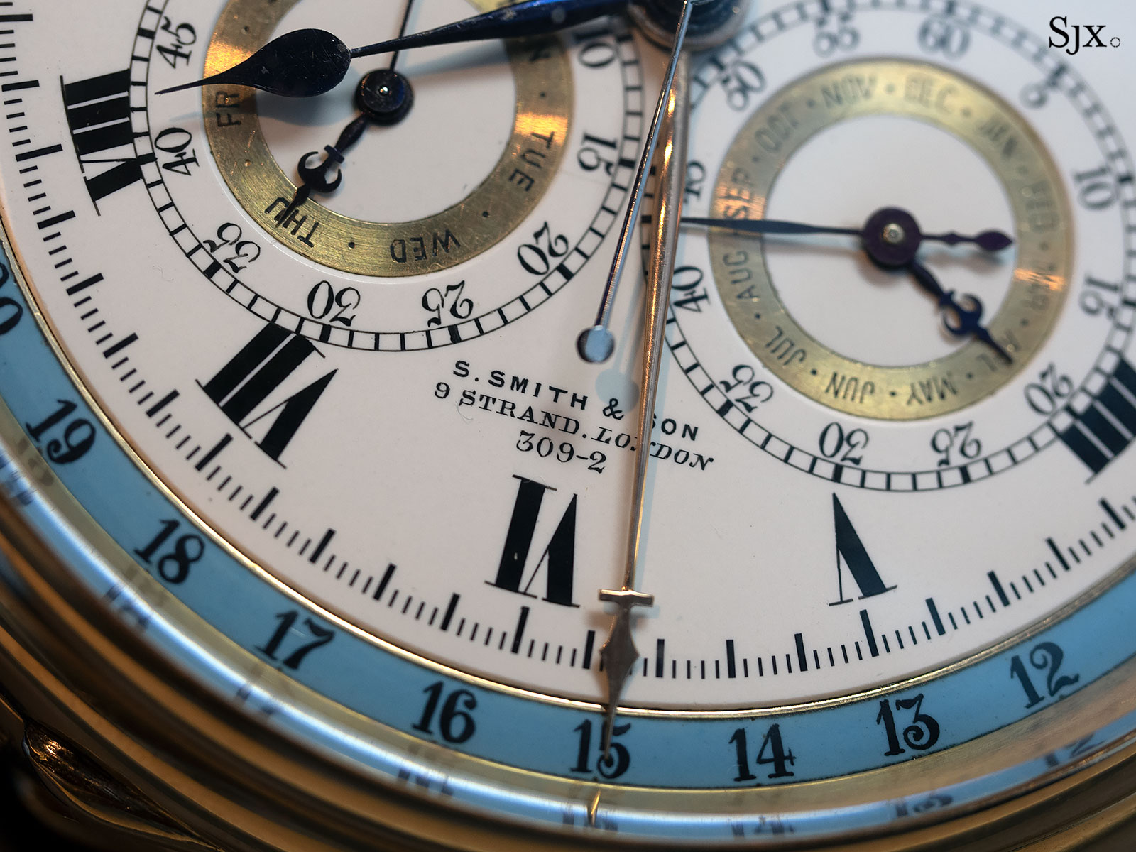 s.smith son grande sonnerie clockwatch chronograph 3