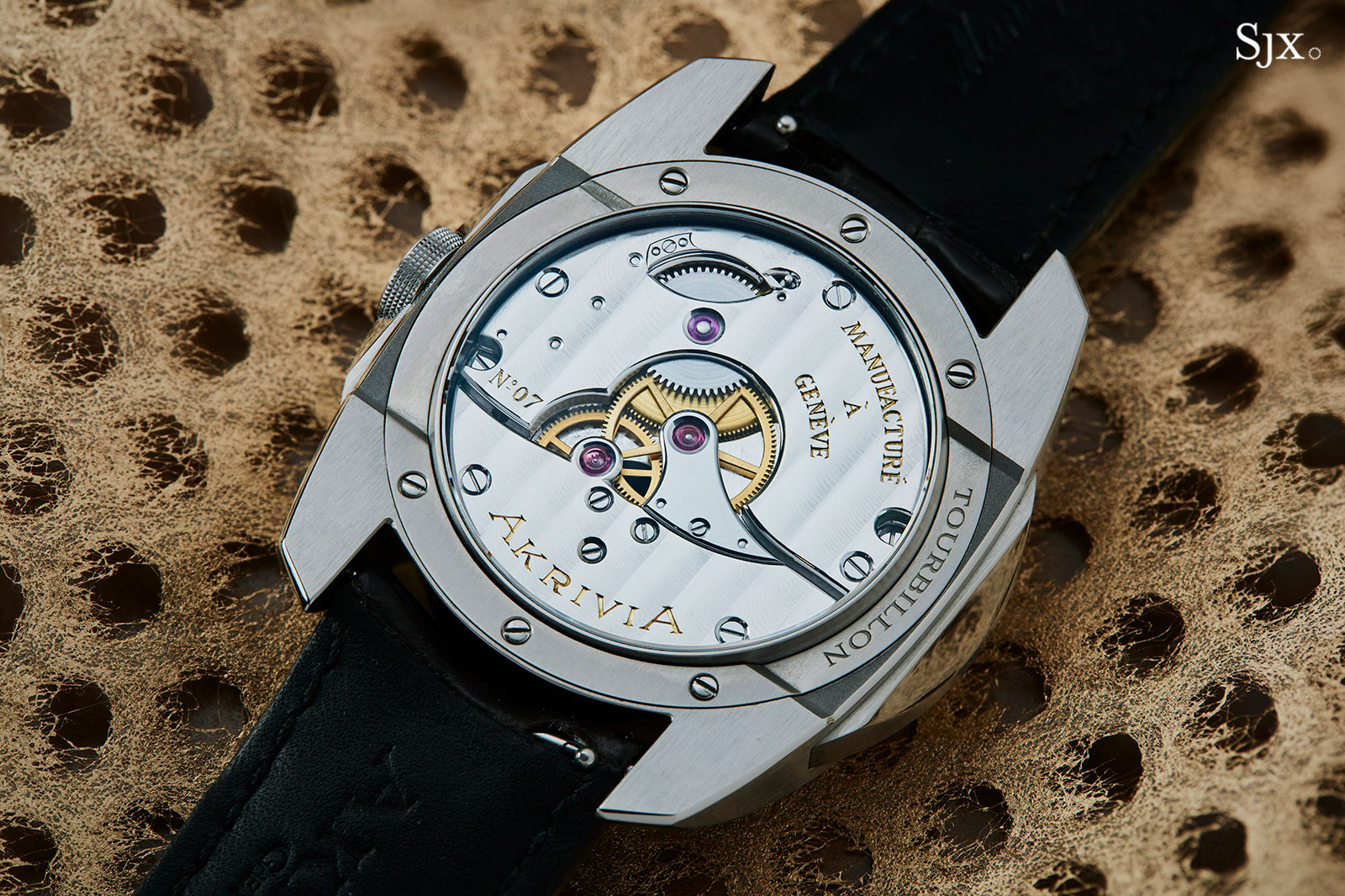 Akrivia AK-02 Tourbillon Hour Minute 12