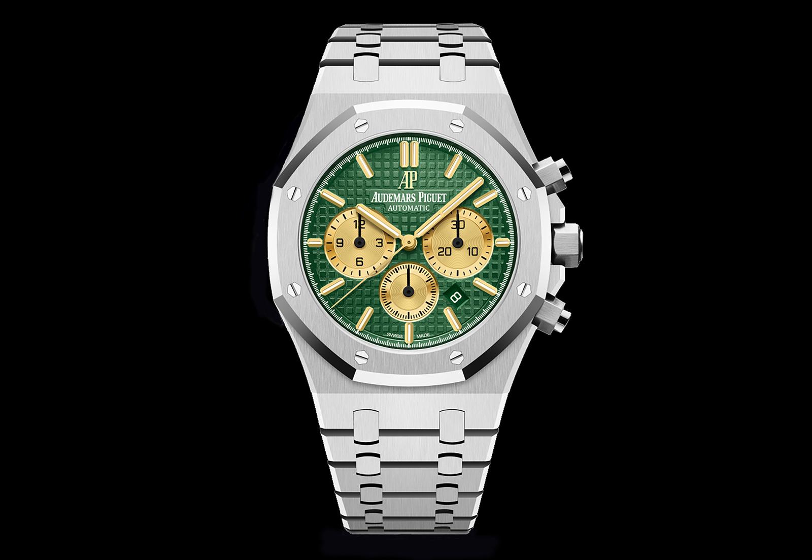 Audemars Piguet Introduces The Royal Oak Chronograph The Hour Glass
