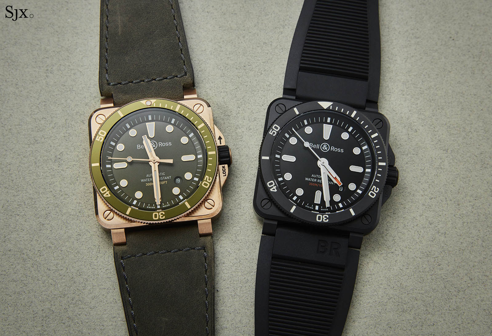 Bell And Ross Watches >> Hands On Bell Ross Br 03 92 Diver Sjx Watches