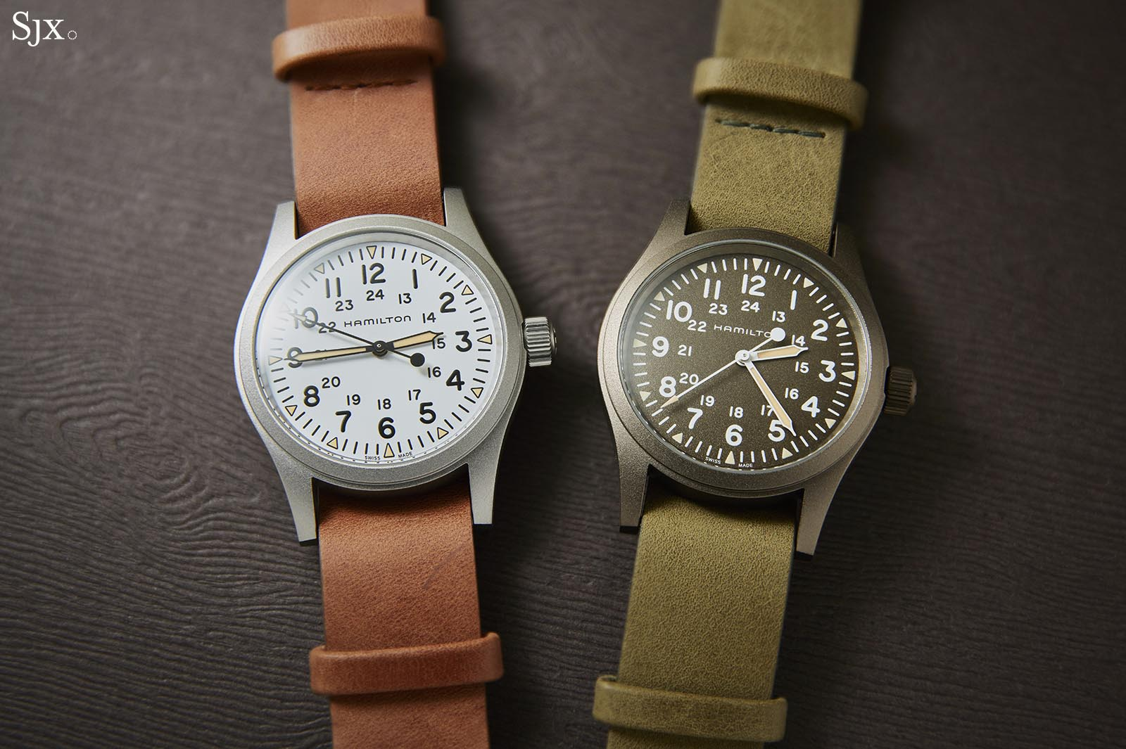 Hands On Hamilton Khaki Field Mechanical 38mm Sjx Watches