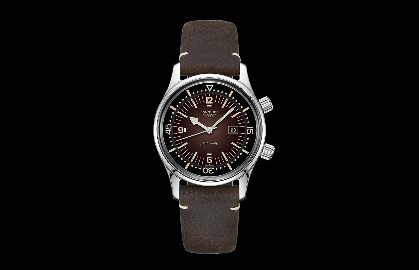 Longines Legend Diver Watch 36mm tropical