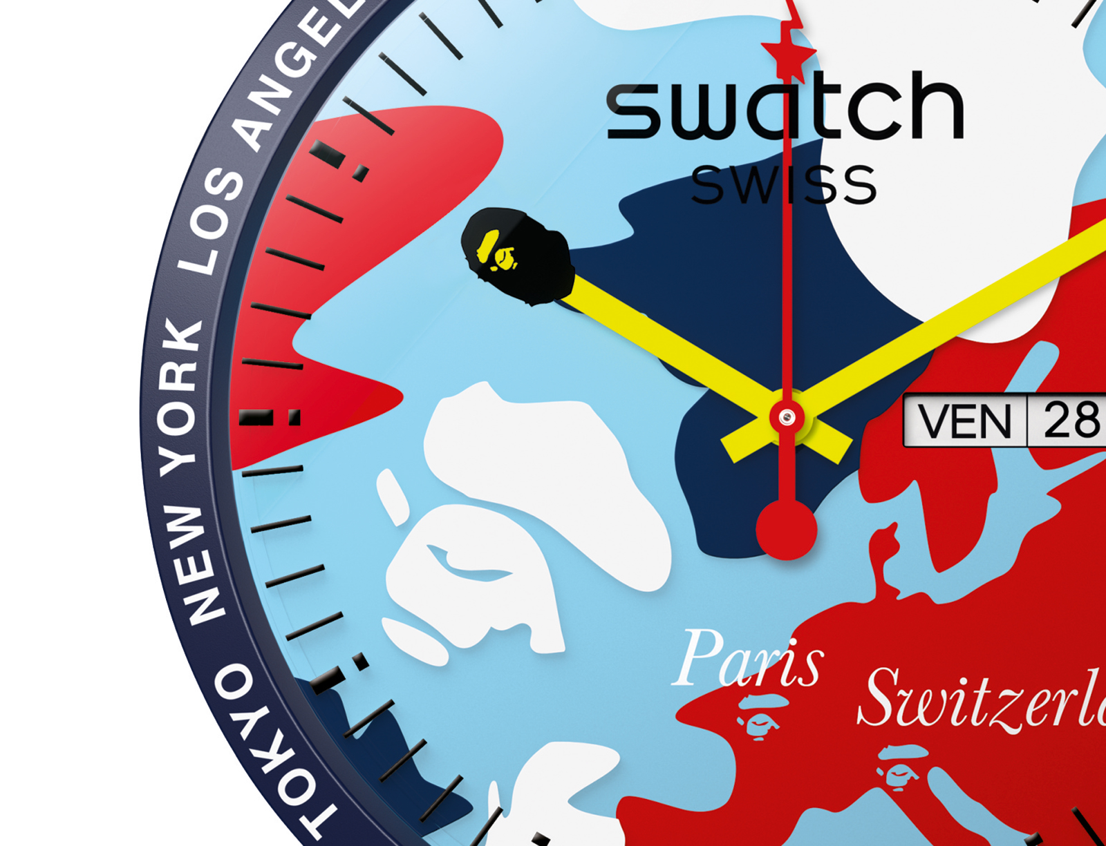 Swatch Big Bold Bape Paris