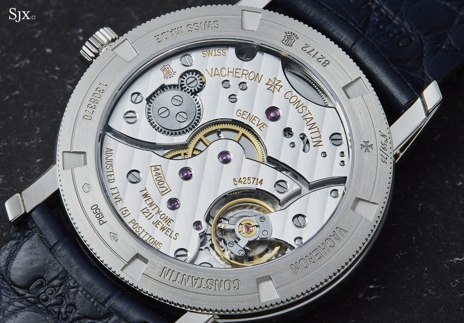 Vacheron Constantin Traditionnelle Manual-winding 'Collection Excellence Platine' 9