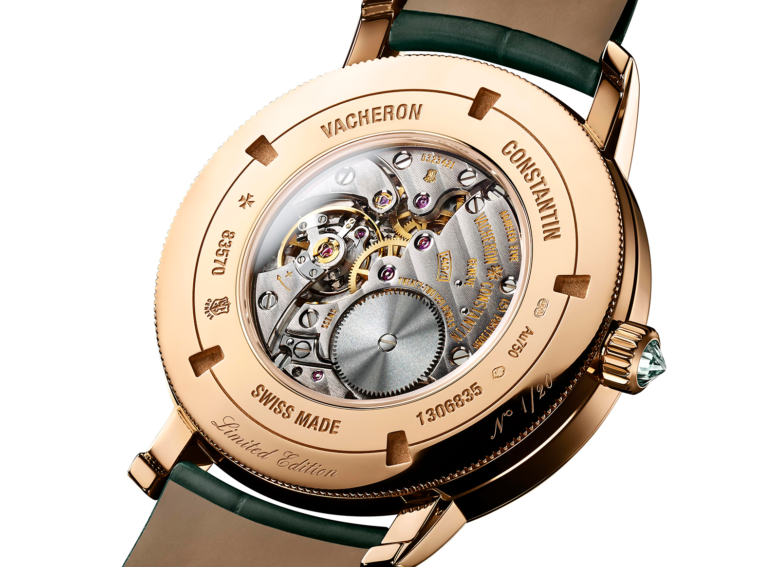 Vacheron Constantin Traditionnelle Self-Winding Harrod_s movement