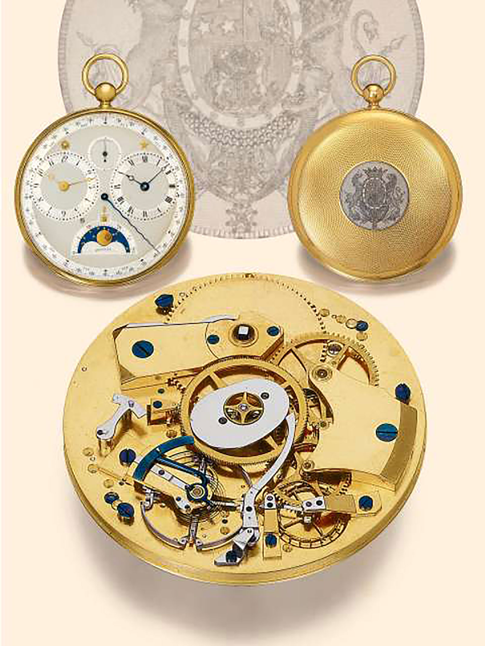 breguet pocket watch 2807