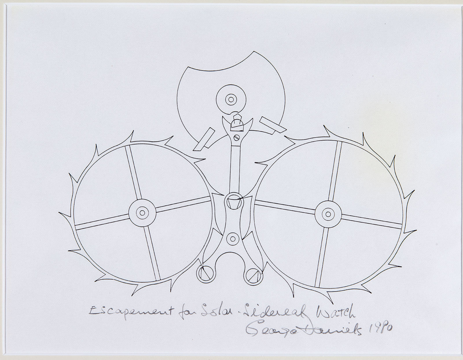 george daniels space traveller double wheel