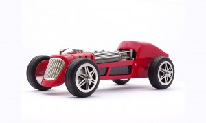 John Mikal Flaux Unveils The Time Fury P18 Car Clock
