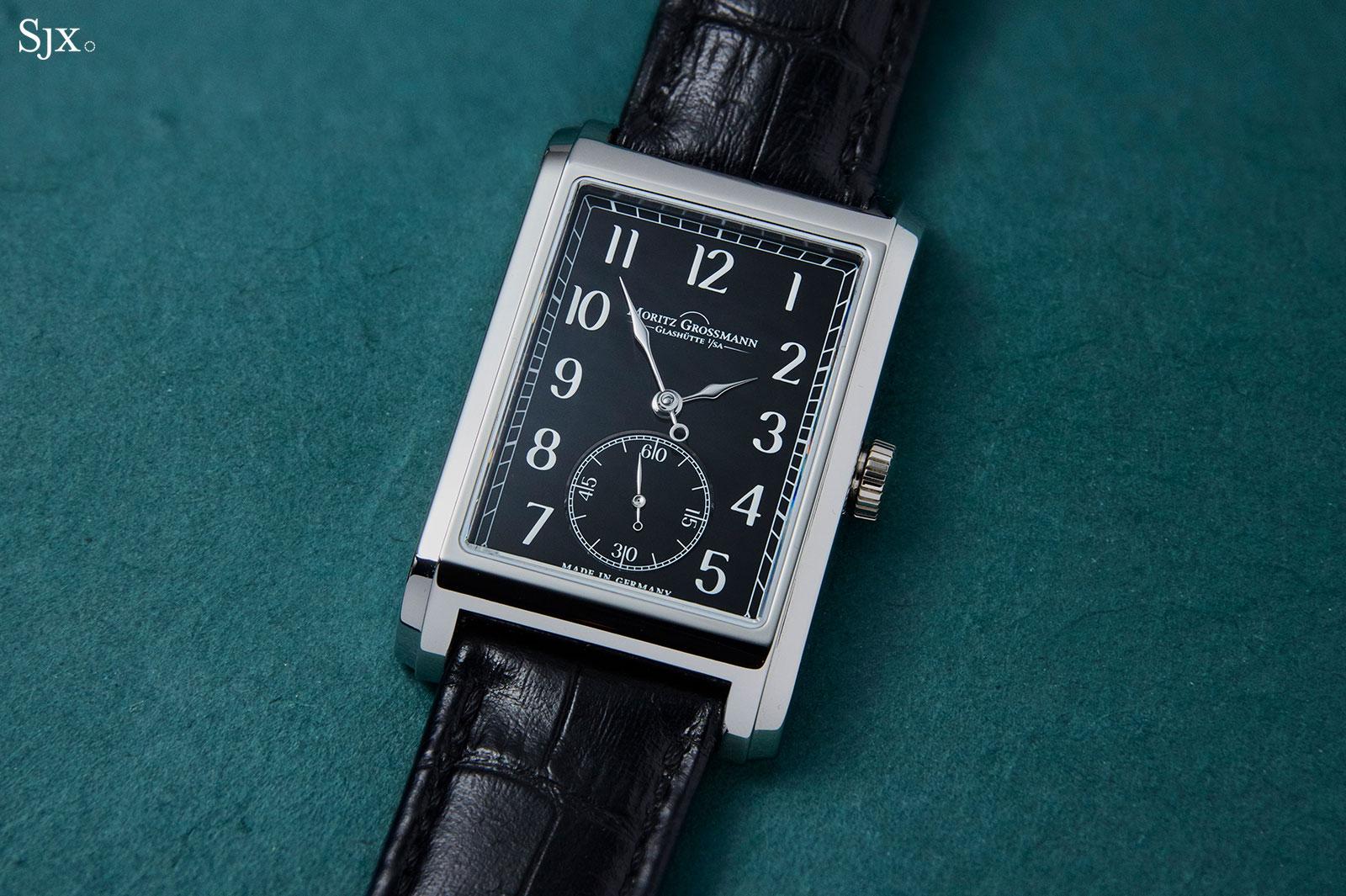 moritz grossmann corner stone black dial 1