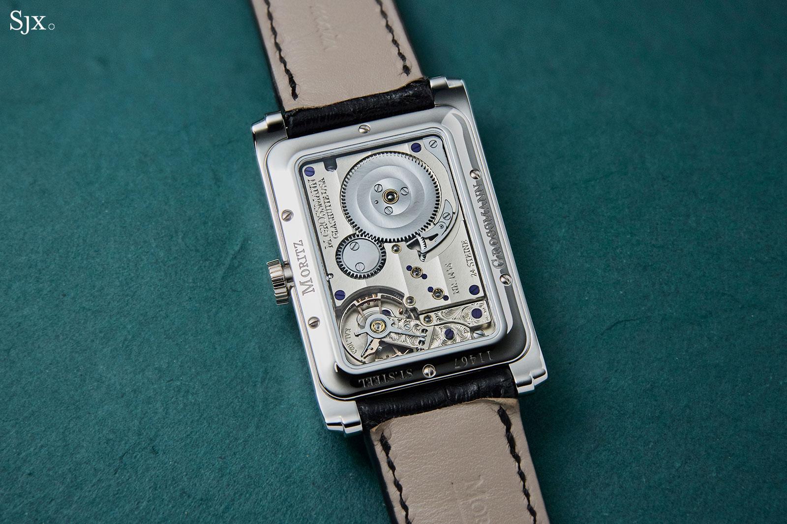 moritz grossmann corner stone black dial 2