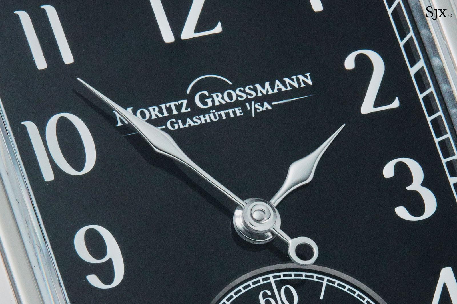 moritz grossmann corner stone black dial 5